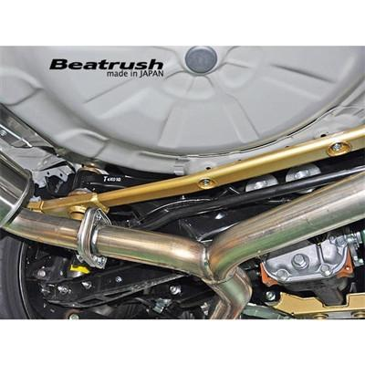 Beatrush Rear Member Performance Support Brace | Multiple Fitments (S86024PB-RB)