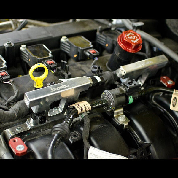 Boomba Racing Mustang Ecoboost Fuel Aux Kit | 2015+ Ford Mustang Ecoboost (028-00-041)