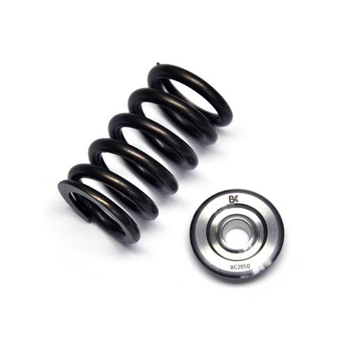 Brian Crower SINGLE SPRING/TITANIUM RETAINER KIT (Honda/Acura K20A3/K24A1) - Modern Automotive Performance