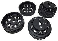 Brian Crower Adjustable Black Cam Gears *SET OF 4* | Multiple Subaru Fitments (BC8860B)