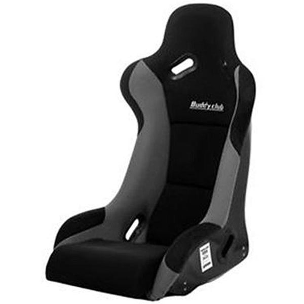 Buddy Club Racing Spec Black Bucket Seat - Regular (BC08-RSBKSR-B)