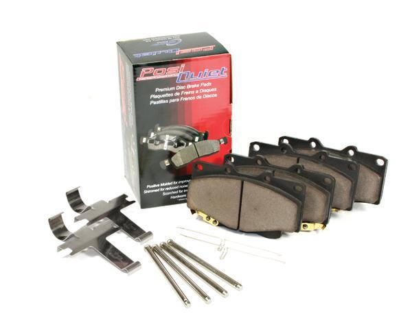 Centric Posi-Quiet Rear Ceramic Brake Pads | Multiple Fitments (105.09610)