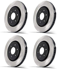 Centric Premium Brake Rotors - Full Set | 2003-2006 Mitsubishi Evo 8/9