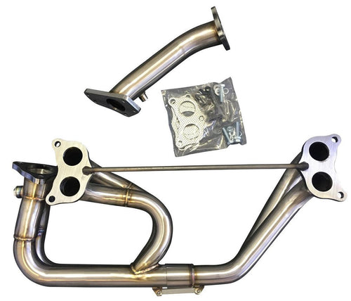 CNT Racing V4 Equal Length Header w/ Up Pipe | Multiple Fitments (HD-9730)