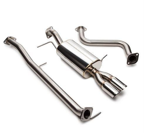 "COBB Tuning 2014 Ford Fiesta ST 2.5"" Stainless Steel Dual Tip Cat-Back Exhaust (501100) - Modern Automotive Performance  - 1"