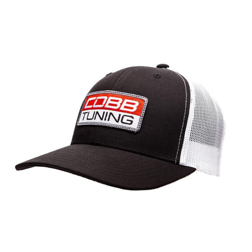Cobb Tuning Mesh 2-Tone Snapback Cap With Patch (CO-CAP-PATCH-RED)