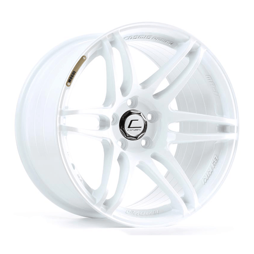 Cosmis Racing MRII White Wheel 18x9.5 +15mm 5x114.3 (MRII-1895-15-5x114.3-W)