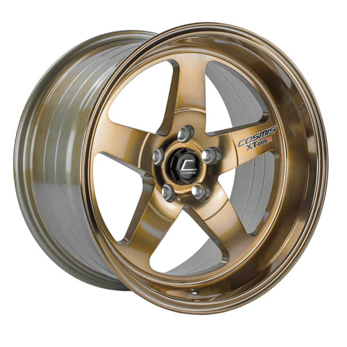 Cosmis Racing XT-005R Hyper Bronze Wheel 18x10 +20mm 5x114.3 (XT005R-1810-20-5X114.3-HBR)