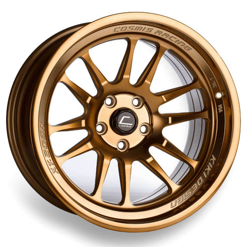 Cosmis Racing XT-206R Hyper Bronze Wheel 17x8 +30mm 5x114.3 (XT206R-1780-30-5x114.3-HBR)