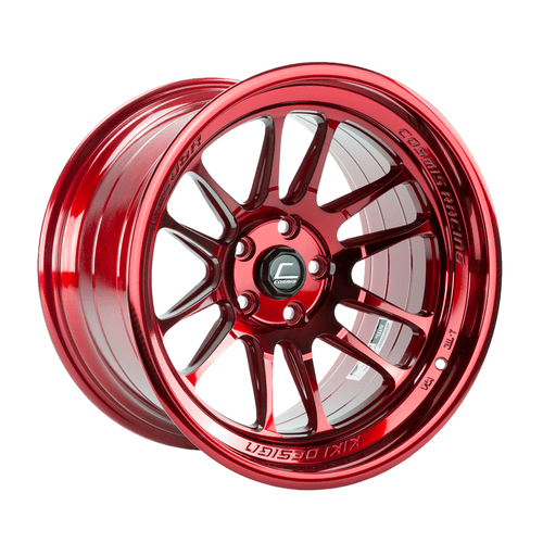 Cosmis Racing XT-206R Hyper Red Wheel 18x11 +8mm 5x114.3 (XT206R-1811-8-5X114.3-HR)