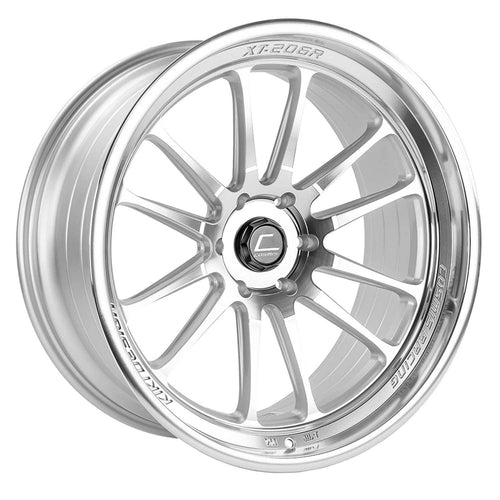 Cosmis Racing XT-206R Silver w/ Machined Face + Lip Wheel 22x10 +0mm 6x139.7 (XT206R-2210-0-6X139.7-SMF)