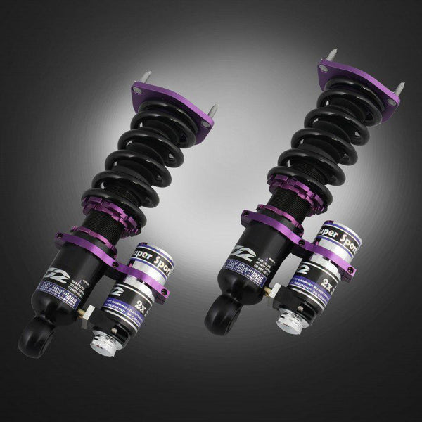 D2 Racing GT Coilovers | 1996-2000 Mitsubishi Evo 4/5/6 (D-MT-18-GT)