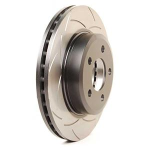 DBA Street Series Slotted Rear Rotor (Subaru STI 2008-2010) 2656S-10 - Modern Automotive Performance
