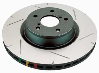 DBA 4000 Series Slotted Front Brake Rotor (Chevrolet Camaro 2010+ V8) 42604S - Modern Automotive Performance