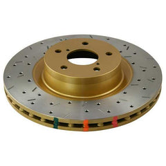 DBA HD Series 4000XS Single Drilled/Slotted Front Brake Rotor | 2003-2006 Mitsubishi Lancer Evolution 8/9 (4418XS)