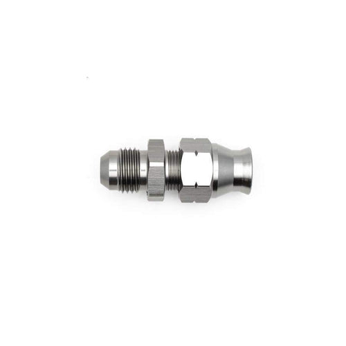 "DeatschWerks 6AN Male Flare to 5/16"" Hardline Compression Adapter w/ Olive Insert (6-02-0108)"