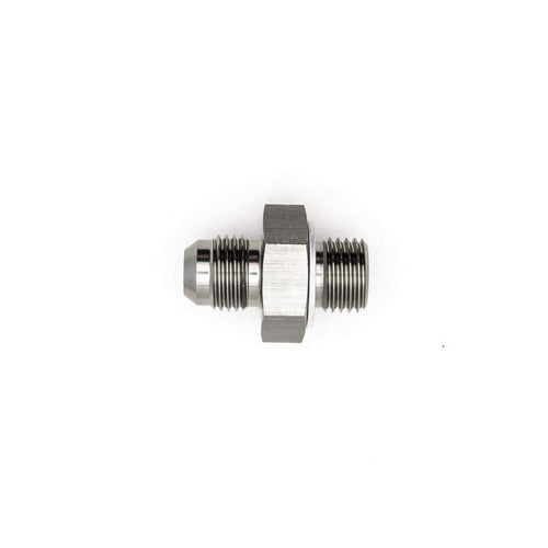 DeatschWerks 6AN Male Flare to M14x1.5 Male Metric Adapter w/ Crush Washer (6-02-0614)