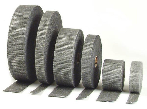 "Exhaust Wrap - Black - 2"" wide x 50' roll by DEI - Modern Automotive Performance"