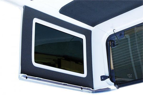 Jeep Wrangler Side Window Kit - '11-Up 4-Door, Gray by DEI - Modern Automotive Performance
