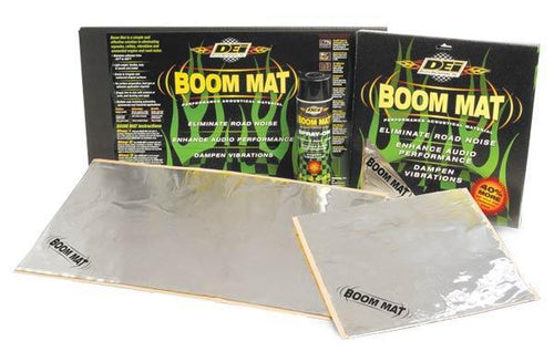 "Boom Mat Damping Material - 12"" x 12-1/2"" (4 pk - 4.2 sq.ft.) by DEI - Modern Automotive Performance"