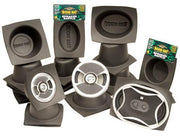 "Speaker Baffles - 6-1/2"" Round Slim by DEI - Modern Automotive Performance"