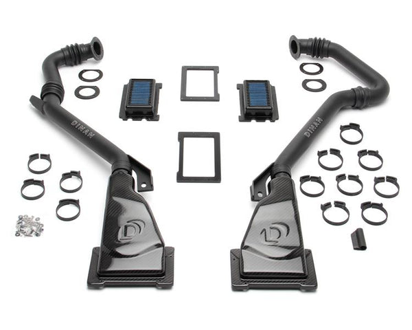 Dinan Carbon Fiber Air Intake & Strut Tower Brace | Multiple BMW Fitments (D760-0036)