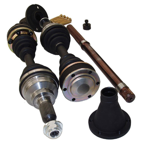 Driveshaft Shop 1000HP Pro Level Axle/Hub/Intermediate Bar Kit | 1992-2000 Honda Civic EG/EK B-Series w/ ABS (AC58)
