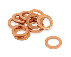 Earl's 10mm Copper Crush Washers Pkg Of 10 (177101ERL)