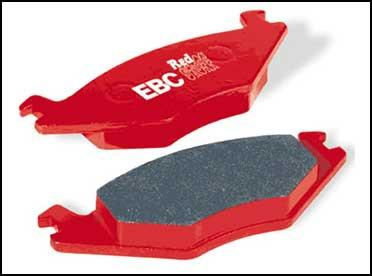EBC Red Stuff Rear Brake Pads (Evo 8/9) DP31538C - Modern Automotive Performance