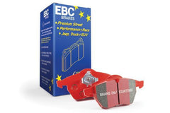 EBC Red Stuff Rear Brake Pads | 2008-2015 Mitsubishi Evo X (DP31985C)