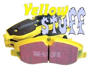 EBC Yellow Stuff Rear Brake Pads (Evo X) DP41985R - Modern Automotive Performance