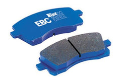 EBC Blue Stuff NDX Rear Brake Pads | 2003-2006 Mitsubishi Evo 8/9 (DP51538NDX)