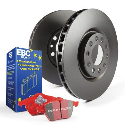 EBC Stage 12 Kits Redstuff pads and RK Rotors | Multiple Volkswagen / Audi Fitments (S12KF1530)