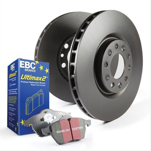 EBC Brakes Rear Stage 1 Brake Upgrade Package | 2008-2015 Mitsubishi Evo X (S1KR1483)