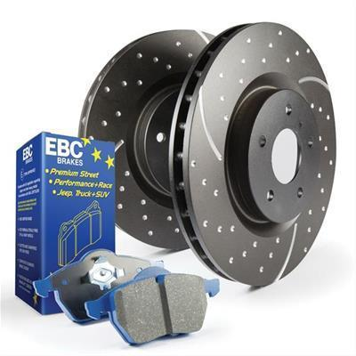 EBC Brakes Stage 6 Rear Brake Upgrade Kit | 2008-2015 Mitsubishi Evo X (S6KR1125)