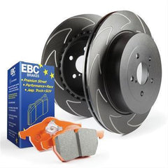 EBC Brakes Stage 7 Front Brake Upgrade Kit | 2008-2015 Mitsubishi Evo X (S7KF1022)