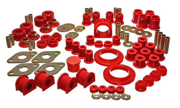 05-13 Tacoma 4WD Hyper-Flex Master Bushing Set - Red by Energy Suspension (8.18113R) - Modern Automotive Performance