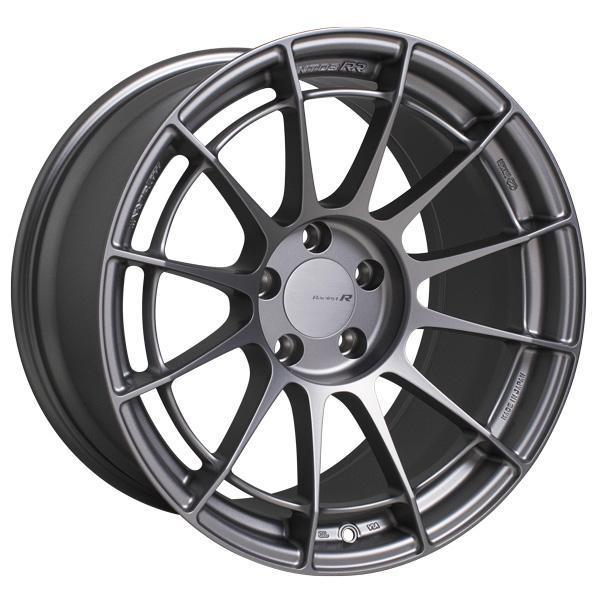 "Enkei NT03RR 5x100 17"" Wheels in Matte Gunmetal"