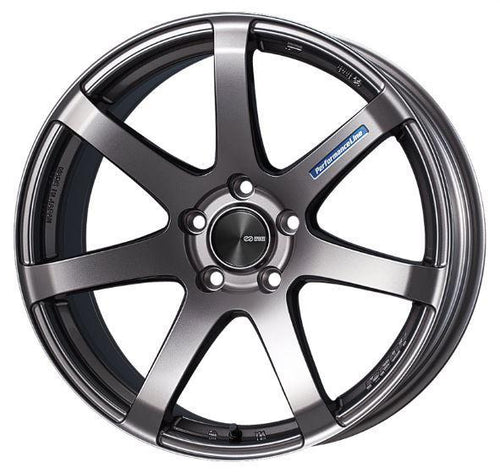 "Enkei PF07 5x114.3 19"" Dark Silver Wheels"