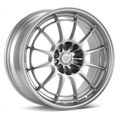 Enkei NT03+M / 18x10.5 / 5x114.3 / 30mm Inset / 72.6mm Bore Silver Wheel (36581056530SP)