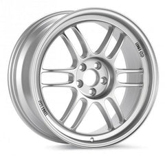 Enkei RPF1 / 18x10.5 / 5x114.3 / 15mm Offset / 73mm Bore Silver Wheel (379-8105-6515SP)