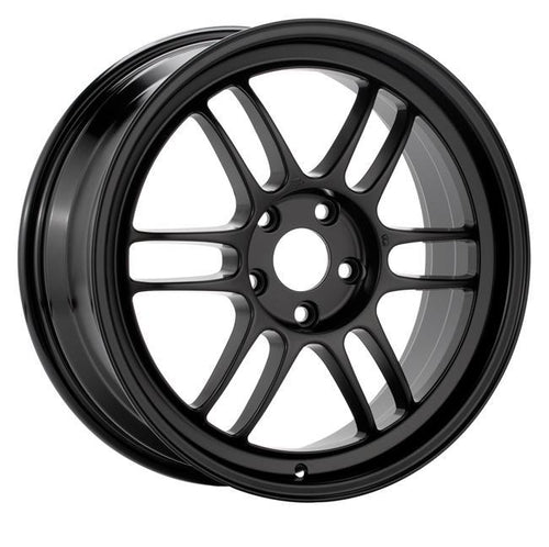 "Enkei RPF1 5x114.3 18x9.5"" +15mm Offset Wheels in Gloss Black"