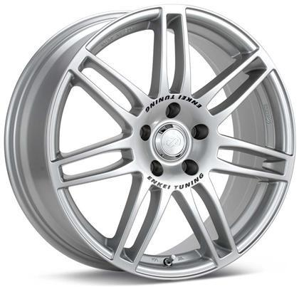 SC05 18x8 35mm Offset 5x112 Bolt Pattern 75mm Bore Dia Silver Wheel by Enkei - Modern Automotive Performance