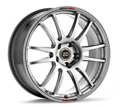 GTC01 18x8 5x114.3 40mm Offset 75mm Bore Hyper Black Wheel by Enkei