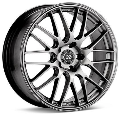 EKM3 442 18x8 5x114.3 40mm offset Hyper Silver Wheel by Enkei - Modern Automotive Performance