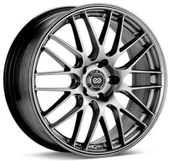 EKM3 442 18x8 5x114.3 40mm offset Hyper Silver Wheel by Enkei
