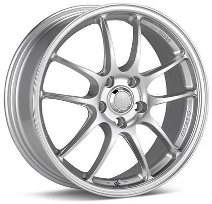 PF01A 18x8 5x114.3 Bolt Pattern 40mm Offset 75 Bore Dia Silver Wheel by Enkei - Modern Automotive Performance