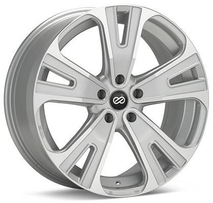 Universal SVX Truck & SUV 20x8.5 50mm Inset 5x127 Bolt 72.6mm Bore Silver Machined Wheel by Enkei