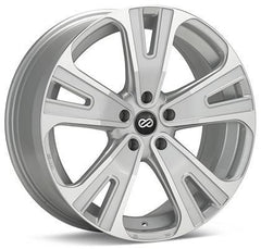 Universal SVX Truck & SUV 18x8 50mm Inset 5x127 Bolt 72.6mm Bore Silver Machined Wheel by Enkei