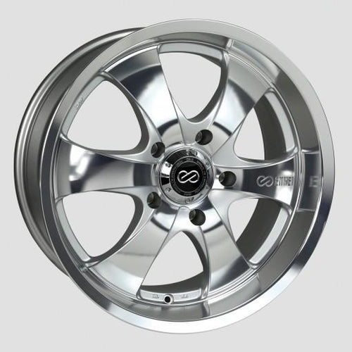M6 Universal Truck&SUV 18x8.5 20mm Inset 5x127 Bolt Pattern 71.6mm Bore Mirror Finish Wheel by Enkei - Modern Automotive Performance